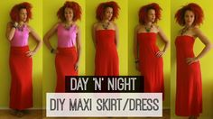 ∞ One2DIY | DIY Maxi Skirt & Dress | Day 'N Night OOTD ∞