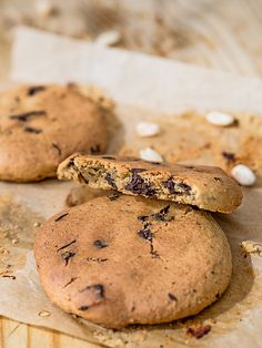 Ciastka z ciecierzycy - zdrowe, wegańskie i bezglutenowe | Przepis