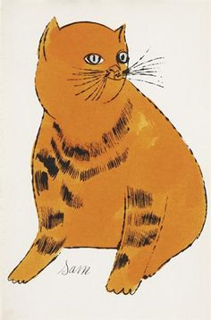 Andy Warhol Sam (From 25 Cats Named Sam and One Blue Pussy), 1954