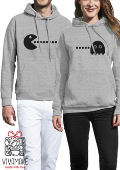 pärchen hoodies / couple sweatshirts/ his and hers hoodies / bear couple hooded sweatshirts / couples matching set / mr and mrs