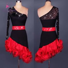 Find More Latin Information about New design of adult Latin dance dress one shoulder sexy dancing dress for women Latin dance costume stage wear 2 colors L028,High Quality dresses ladies,China dresses design Suppliers, Cheap dresses topshop from Love to dance on Aliexpress.com