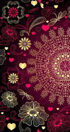 New Ideas Mandala Art Wallpaper Iphone Mandala Wallpaper, Flower Wallpaper, Cool Wallpaper, Mobile Wallpaper, Pattern Wallpaper, Wallpaper Backgrounds, Travel Wallpaper, Nature Wallpaper, Wallpaper Quotes