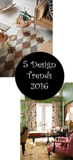5 Design Trends You can't Miss This Year