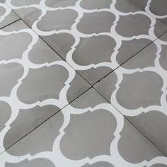vinyle adh sif pour les sols et murs style carrelage hydraulique image imprim e sur des lames. Black Bedroom Furniture Sets. Home Design Ideas