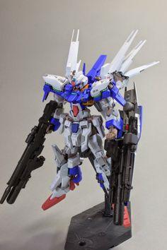 HG 1/144 Gundam AGE-FX Custom Build - Gundam Kits Collection News and Reviews