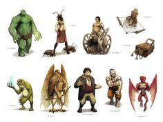 Bas Lag characters