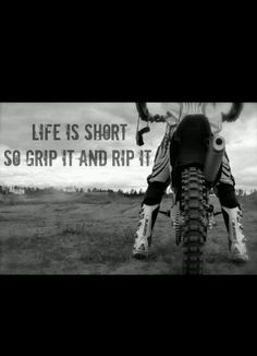 For the sweet love of MOTOCROSS! Our ultimate list of motocross quotes are dirty, funny, serious and always true. Check out our favorite motocross sayings Motocross Quotes, Dirt Bike Quotes, Motocross Love, Biker Quotes, Motorcycle Quotes, Motocross News, Dirtbike Memes, Motocross Funny, Tomboy Quotes