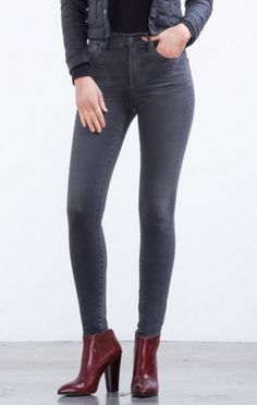 Citizens Of Humanity Rocket High Rise Skinny In Decibel - Jessimara Citizens Of Humanity, Distressed Jeans, Skinny Jeans, Female, Denim, Pants, Shopping, Clothes, Collection