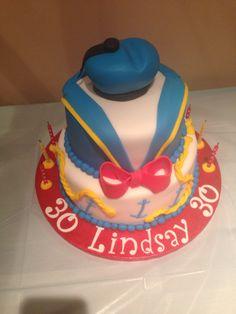 Donald Duck Birthday Cake