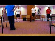 Older Adult Balance Class - YouTube
