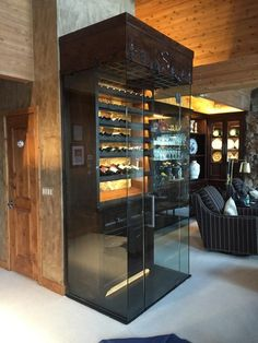 You really need to view This Cellar remodel ideas . Bcoz it is literally proper . Easy Bread Recipes, Healthy Diet Recipes, Cellar Design, Wine Fridge, Amazing Architecture, No Cook Meals, Liquor Cabinet, Cellar Ideas, Sweet Home