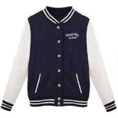 Autumn Kids Girls Pocket Dont Kill My Vibe Casual Slim Baseball Jacket Outwear