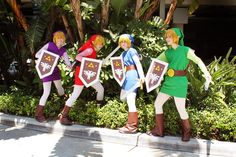 Four of A Kind by Banzai Productions - Zelda Four Swords coplayers group