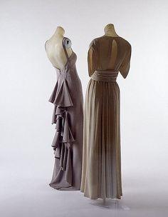 Evening ensemble, Valentina, c. 1935.