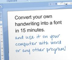 Send handwritten letters online | Writing Fonts
