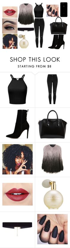 """""""Sister inspired look"""" by julialooks on Polyvore featuring moda, River Island, ALDO, Givenchy, Fiebiger, Estée Lauder e 8 Other Reasons"""