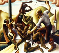Thomas Hart Benton - Slaves