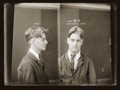 Portraits de criminels australiens dans les années 1920 photo police sydney australie mugshot 1920 12