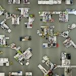 Lab photographed from a bird's-eye view by Menno Aden