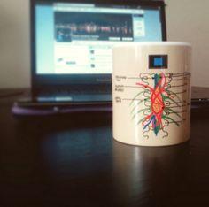 Grey's Anatomy cup.