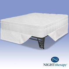 Night Therapy 12″ Euro Box Top Spring Mattress & Bed Frame Set – Twin  http://www.mytimehome.com/night-therapy-12-euro-box-top-spring-mattress-bed-frame-set-twin/