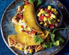 Spice It Up Recipes: Fiery Fish Tacos with Jalapeño-Mango Salsa