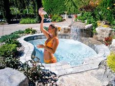 inground spa hot tub