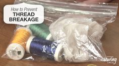 Nothing stalls a new project quicker than sewing thread that keeps breaking. Here's how to prevent it >> www.nationalsewingcircle.com/video/preventing-thread-breakage #learnmoresewmore