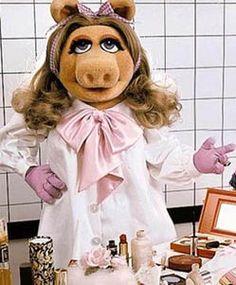 Beauty school drop out. Miss Piggy gets coveteur'd