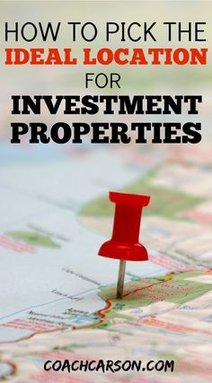 This guide shows you how to pick the best location for your investment properties. When you pick the right location your chances of making money increase. by Read