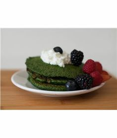 Happy St. Patrick's Day! Try our healthy and green Hawaiian Spirulina and Spinach Pancakes! | Nutrex Hawaii