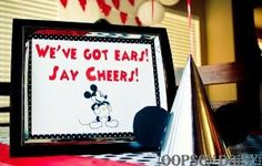 mickey mouse party birthday-party-ideas by sparklemomma0307