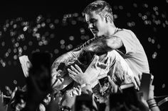 "bieber-news: ""October 2, 2016: New/old photos of Justin performing at Telia Parken in Copenhagen, Denmark. """