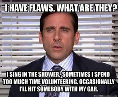 When Michael revealed his only flaws.