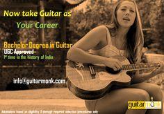 Degree - Bachelor of Music (Guitar)