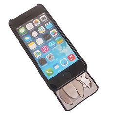 myTask Bike - iPhone 5/5S Case with 22 Bike Tools Built-in - Black