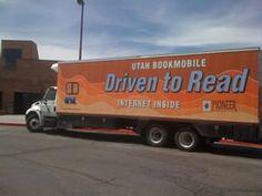 Carbon County (Utah) Library bookmobile.