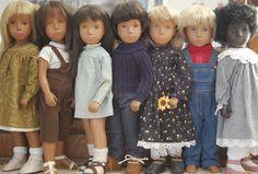 Sasha dolls, I wasn't allowed Barbies/Sindy's/Tiny tears, but I WAS allowed Sasha dolls...