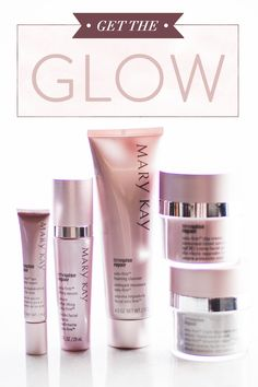 Go back in time and lift away the years with TimeWise Repair® Volu-Firm® Set. This Mary Kay® best-seller will make you want to Glow and Tell your friends all about it! www.marykay.com/aschan