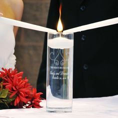 Whimsical Hearts Floating Unity Candles
