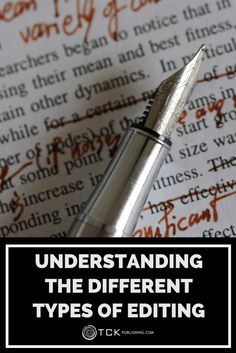 Writing your book is only the beginning! Learn about the different types of editing, how they work, and what you can expect to pay to help make your manuscript the best book it can be.