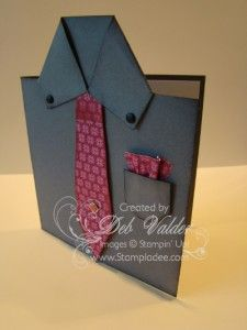 Video Tutorial for Masculine Card with Deb Valder