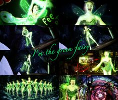 Kylie Minogue as the Green Fairy in Moulin Rouge