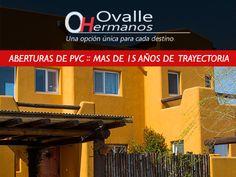 Aberturas de PVC www.ovallehnos.com.ar Excelente instalación y entrega a tiempo. Fabricamos todo tipo de aberturas, en PVC y en aluminio en provincia de Buenos Aires, República Argentina.