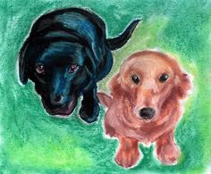 @fairychamber posted to Instagram: I am taking pet portrait commissions. You can have a customized whimsical drawing of your pet made by me. Link is in the bio. Doggies are drawn with soft pastels. #commissions #doggies #dogportrait #dogportraits #softpastels #pasteldrawing #pastelart #mansbestfriend #bestdogever #petportrait #lovethisdog #furryart #ilovemydog #lovedogs #labrador #furry #commission #animalart #dogart #mustlovedogs #animaldrawing #pets #lovepuppies #dogoftheday #doglover #dog