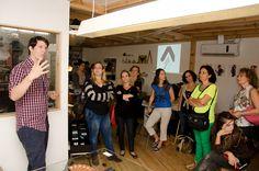 WALKTALK design tour visits Hanechoga designer group space