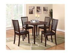 Dakota 5-Piece Round Table Dining Package, (1289RDPK5) | The Brick $399.98
