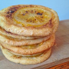 Bruleed Meyer Lemon Cookies
