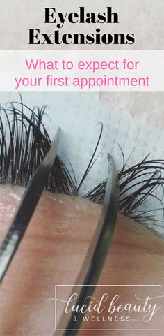 Eyelash Extensions: What to Expect Before Your First Appointment. Always arrive to your appointment free of eye makeup. Find out why here!