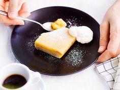 Sitruunapiirakka Sweet Pastries, Cornbread, Dairy, Pie, Cupcakes, Cheese, Dishes, Baking, Ethnic Recipes